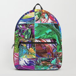 Glass Spheres Backpack