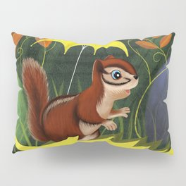 Chipmunk's Amazing Rainy Day Adventure Pillow Sham