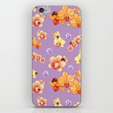 Orchids & Ladybirds iPhone & iPod Skin