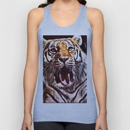 Painted Tiger 9 Unisex Tank Top