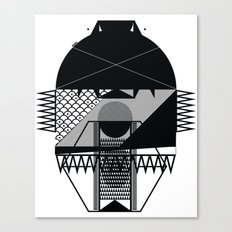 Make Things Slithy Different_the Mask Canvas Print