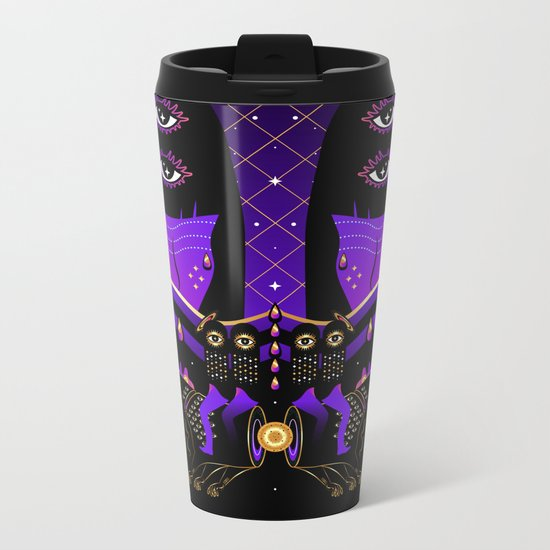 L U N A Metal Travel Mug