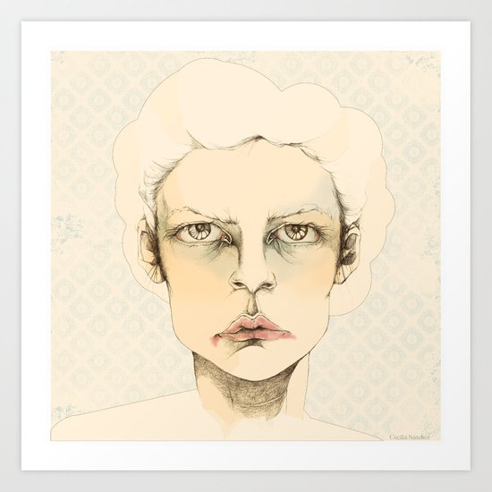 """portrait of anybody"" Art Print"