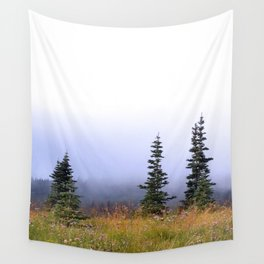High Upon A Mountain Wall Tapestry