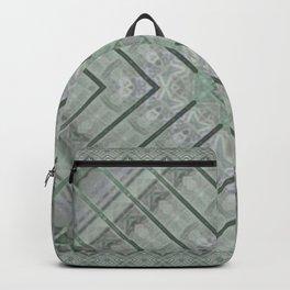 Refreshing Mint Green Tea Maze Backpack