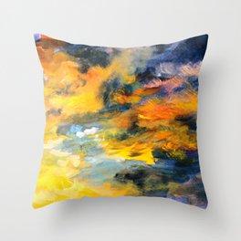 Sunset Detail Throw Pillow