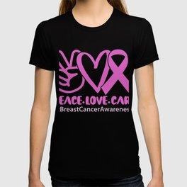 Brustkrebs Bewusstsein für alle, die Pink tragen T-shirt