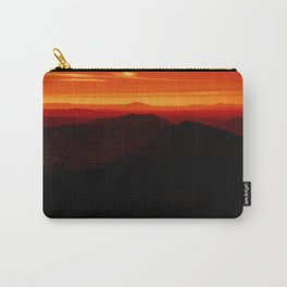 Red Horizon, Fire in the Distance. Carry-All Pouch