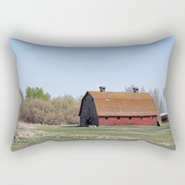 The Red Barn Rectangular Pillow