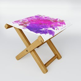 """""""Butterflies And Confetti"""" Folding Stool"""