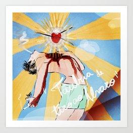 Adoniran Art Print