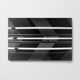 Abstract Industrial Metal Print