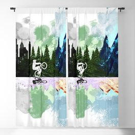 Go to The Mountains Blackout Curtain