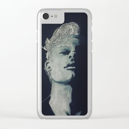 SM B&W Clear iPhone Case