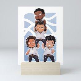 Logan Pile Mini Art Print