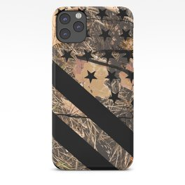 Hunting Camouflage Flag 3 iPhone Case