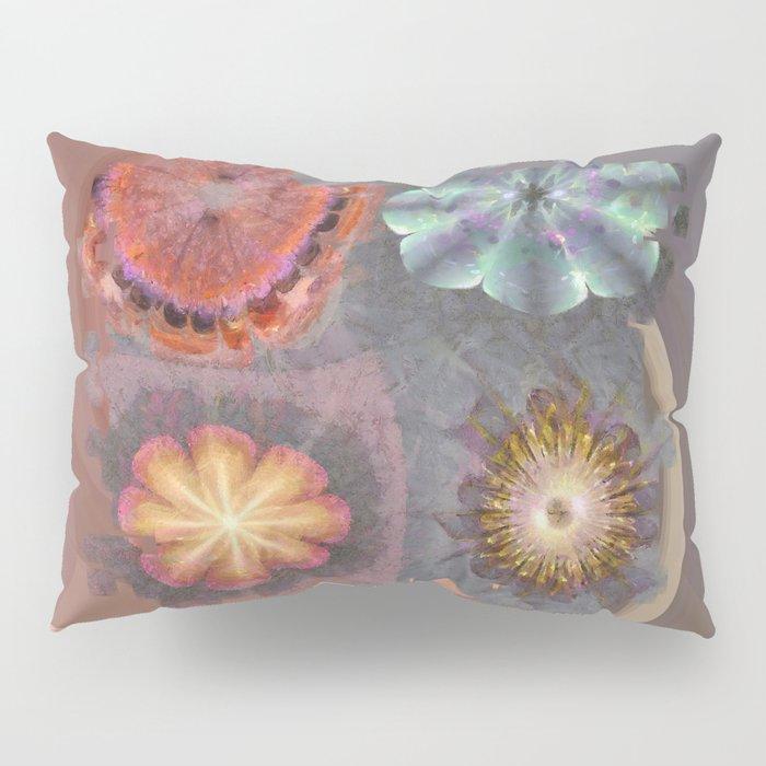 Absenters Intermixture Flower  ID:16165-065456-80170 Pillow Sham