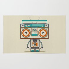 Music robot Rug