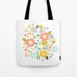 Airy GardenPillow Tote Bag