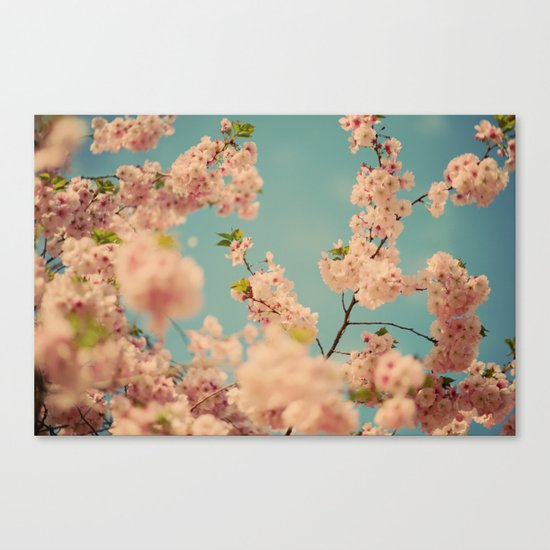 Party in Pink Canvas Print