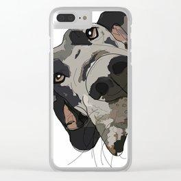 Great Dane Clear iPhone Case
