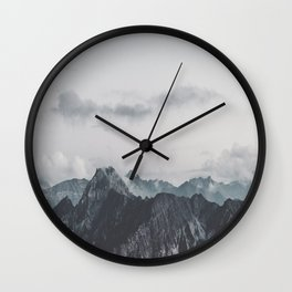 Calm - landscape photography Wall Clock