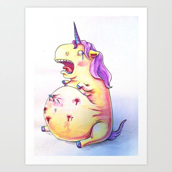 Joys of Pregnancy Art Print