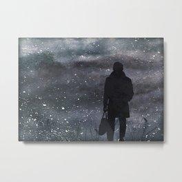 Dreamscape Textured Landscape Scene Metal Print