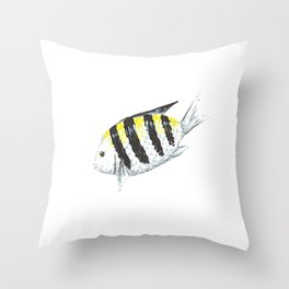 Sergeant Major (Píntano) Throw Pillow