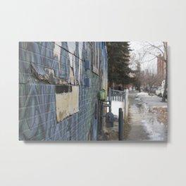 Beltline wall Metal Print