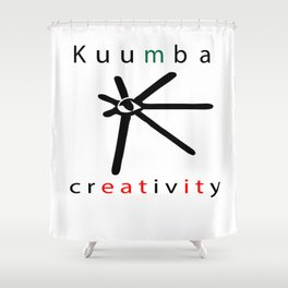 kuumba = creativity Shower Curtain
