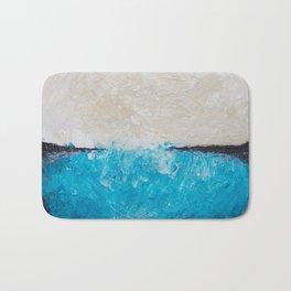 Blue Bottom Bath Mat