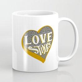 Love Stinks - Secretly Romantic Valentine Coffee Mug