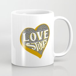 Love Stinks - Secretly Romantic Valentine Coffee Mug