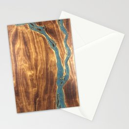 Epoxy River Tables - Bangladesh #1 Stationery Cards