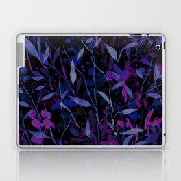Wandering Wildflowers Midnight Laptop & iPad Skin