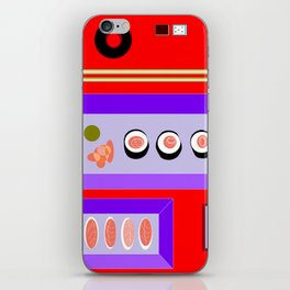 A Sushi Dinner with Tea iPhone Skin