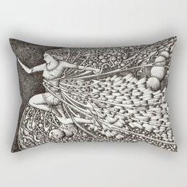 Make haste Rectangular Pillow