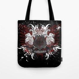 Cullenite Crest (on dark background) Tote Bag