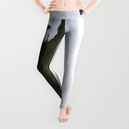 Qantas Airbus A380 art Leggings