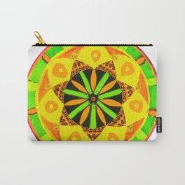 Jamaican Rhythm Mandala Carry-All Pouch