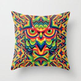 Owl 3 Throw Pillow
