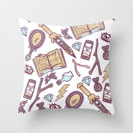 Warlock Pact Throw Pillow