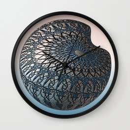 Dimpled Wall Clock