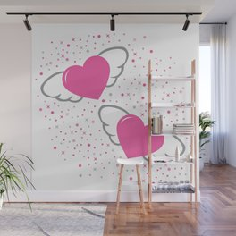 flaying hearts Wall Mural