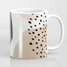 Woman silhouette art, Mid century modern art Coffee Mug