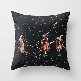 Dancing finale Throw Pillow
