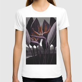 Birds of Paradise : Temple of Flora Dark T-shirt