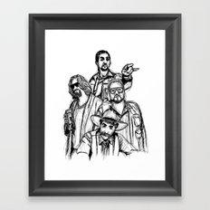 Let's Roll Framed Art Print