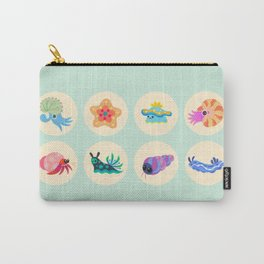 Hermit crab & starfish Carry-All Pouch